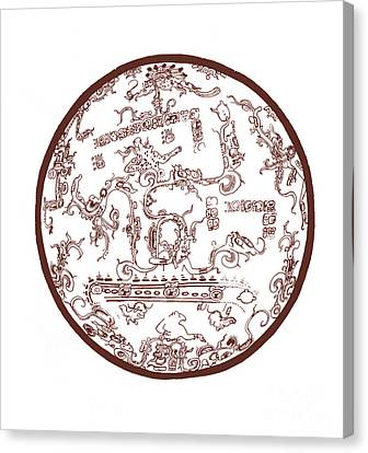 Mayan Cosmos Canvas Print by Science Source