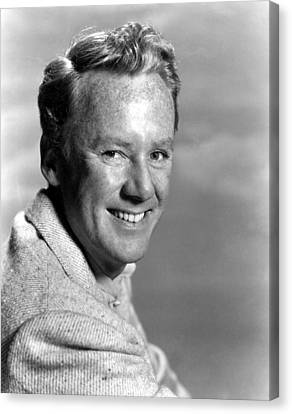 Miracle In The Rain, Van Johnson, 1956 Canvas Print by Everett