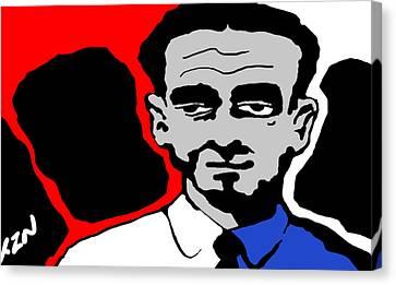 Mister Keystone Canvas Print by Tom Dickson
