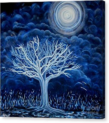 Moon Shine  Canvas Print by Caroline Street