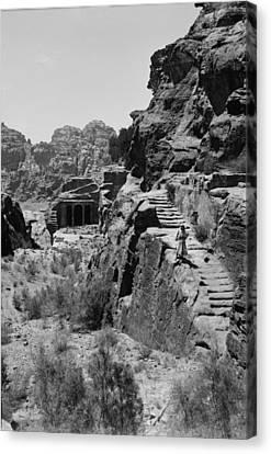 Mount Sinai, Trans-jordan. Petra Canvas Print by Everett