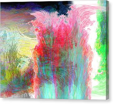 Movement Canvas Print by Christopher Gaston