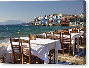 Mykonos Canvas Print by Joana Kruse