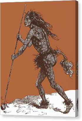 Native American Shaman Canvas Print by Science Source