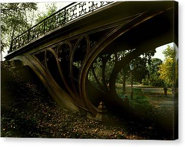 New York City, Central Parks Gothic Canvas Print by Everett