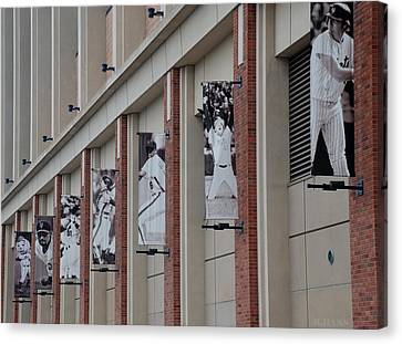 New York Mets Of Old Canvas Print by Rob Hans