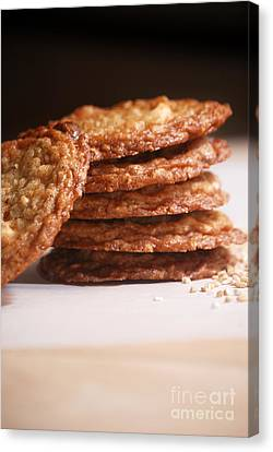 Oatmeal Cookies Canvas Print by HD Connelly