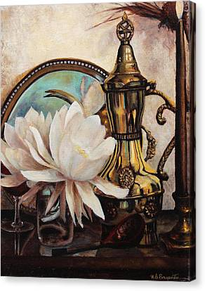Old World Charm Canvas Print by M Diane Bonaparte