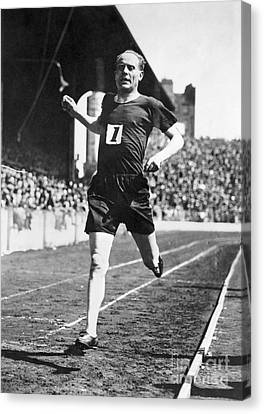 Paavo Nurmi (1897-1973) Canvas Print by Granger
