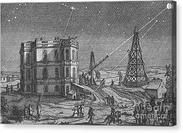 Paris Observatory, 17th Century Canvas Print by Science Source