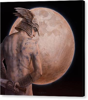 Perseus Canvas Print by Jose Luis Munoz Luque