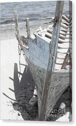 Ribs On The Sand  Canvas Print by Kristian Peetz