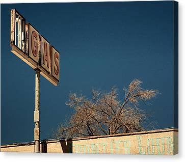 Route 66 Canvas Print by Aurica Voss