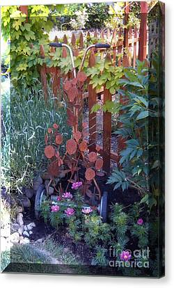 Rusty Rose Canvas Print by JP Giarde