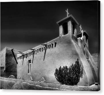 San Francisco De Asis Church Iv Canvas Print by Steven Ainsworth