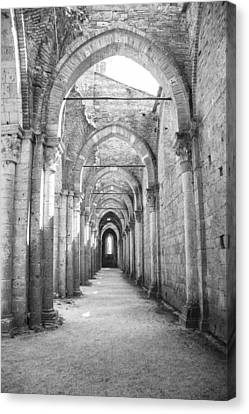 San Galgano Abbey Canvas Print by Ralf Kaiser