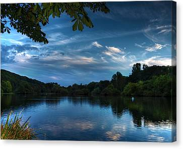 Scarborough Mere Canvas Print by Svetlana Sewell