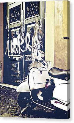 Scooter Canvas Print by Joana Kruse