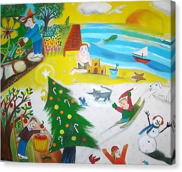 Seasons Canvas Print by Ward Smith