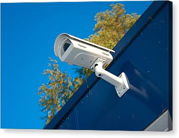 Security Camera Canvas Print by Hans Engbers