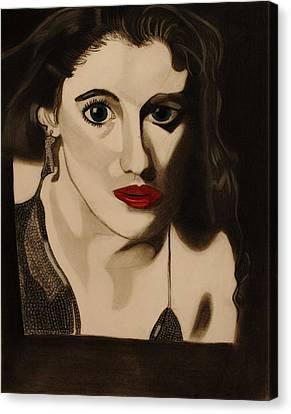Self Portrait Canvas Print by Teri Schuster