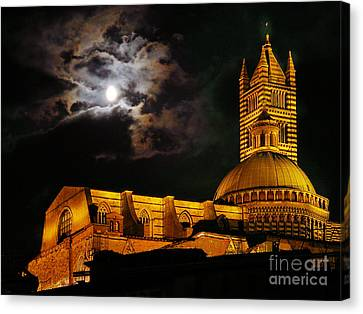Siena Cathedral Canvas Print by Jim Wright
