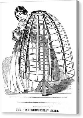 Skirt Factory, 1859 Canvas Print by Granger
