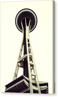 Space Needle Canvas Print by Tanya Harrison