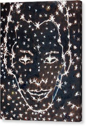 Starry Eyed Canvas Print by Dennis Goodbee
