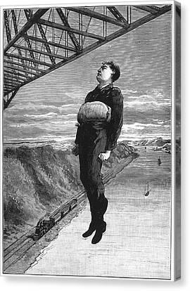 Steve Brodie (c1863-c1901) Canvas Print by Granger