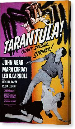 Tarantula, John Agar, Mara Corday, 1955 Canvas Print by Everett