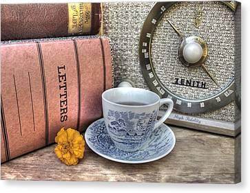 Tea Time Canvas Print by Jane Linders