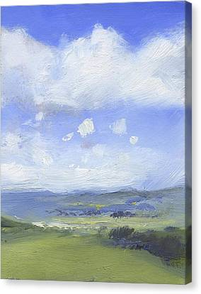 The Distance Canvas Print by Alan Daysh
