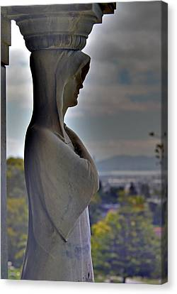 The Guardian -r- Canvas Print by Phil Bongiorno