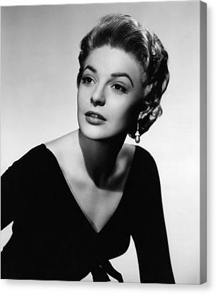 The Last Frontier, Anne Bancroft, 1955 Canvas Print by Everett