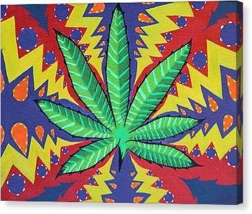 The Pot Canvas Print by Landon Clary