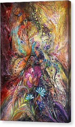 The Shining Of Gold Canvas Print by Elena Kotliarker