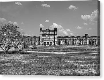 The West Virginia State Penitentiary Front Canvas Print by Dan Friend