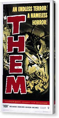 Them, 1954 Canvas Print by Everett