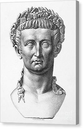 Tiberius (42 B.c.- 37 A.d.) Canvas Print by Granger