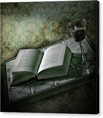 Time To Read Canvas Print by Joana Kruse