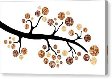 Tree Branch Canvas Print by Frank Tschakert