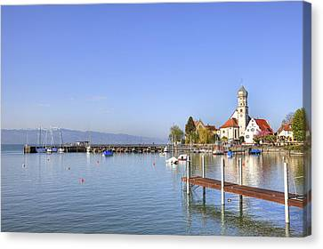 Wasserburg Canvas Print by Joana Kruse