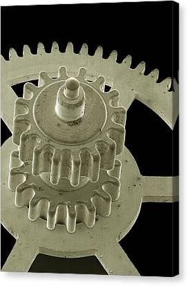 Watch Gears, Sem Canvas Print by Steve Gschmeissner