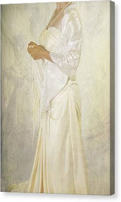Wedding Dress Canvas Print by Joana Kruse