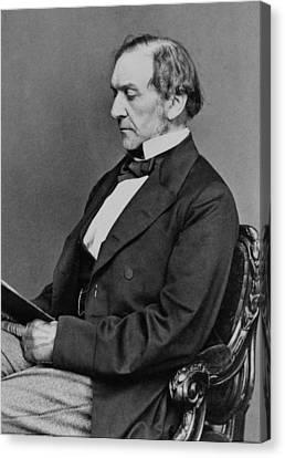 William Gladstone 1809-1898, Prime Canvas Print by Everett