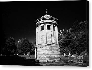 William Huskisson Memorial In St James Cemetery Liverpool Merseyside England Uk  Canvas Print by Joe Fox