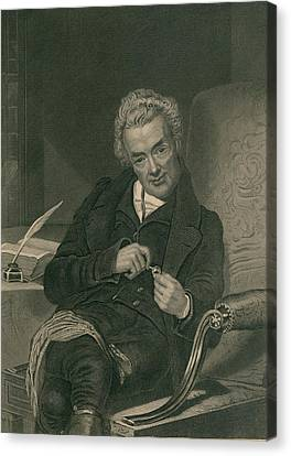 William Wilberforce 1859-1833 British Canvas Print by Everett