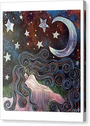 Wonder Of Night Canvas Print by Monica Furlow