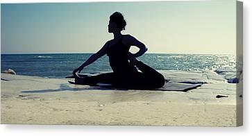 Yoga Canvas Print by Stelios Kleanthous